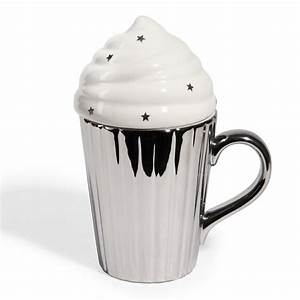 Tasse à Café Maison Du Monde : mug argent avec couvercle en forme de glace by maisons du monde mug et tea pot pinterest mugs ~ Teatrodelosmanantiales.com Idées de Décoration