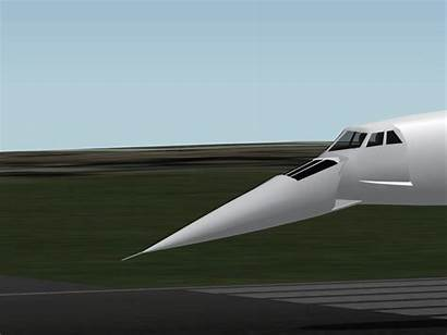 Nose Droop Concorde Pesawat Wikipedia Moving Indonesia