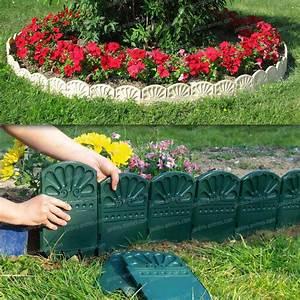 Bordure Plastique Jardin : bordures d coratives de jardin en plastique bordure de ~ Premium-room.com Idées de Décoration