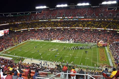 fedex field washington redskins football stadium