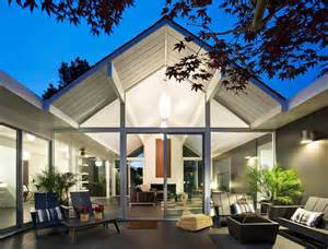 interior courtyard house plans interior courtyard surrounded by 4 gables house by klopf architecture modern house designs
