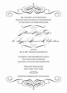 wedding invitation wedding invitation templates word With wedding invitation templates in word format