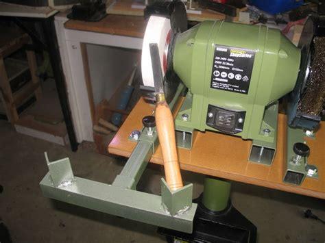sharpening jig  turning chisels