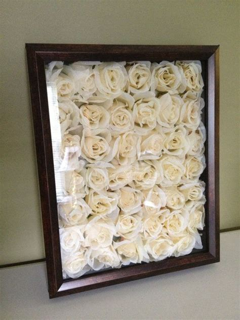 floral shadow box itd   awesome