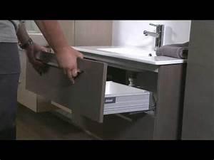 comment demonter et remonter les tiroirs le coin salle With vasque evier salle de bain