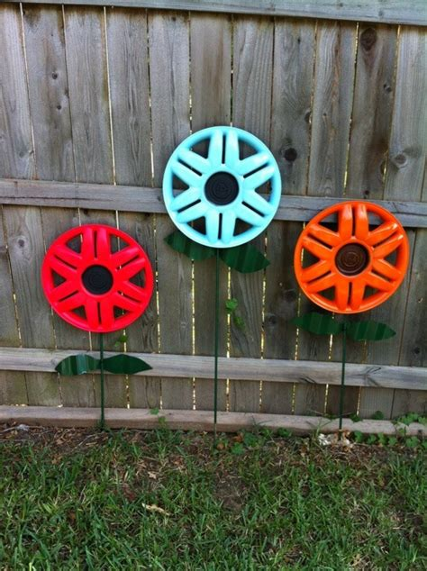 hubcap flowers mixed kreations