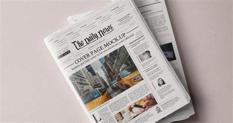 daily newspaper psd mockup psd mock  templates pixeden