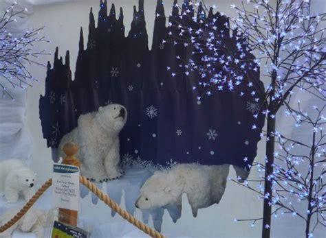 polar bear cave christmas display ideas pinterest