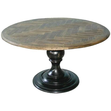 ashton round pedestal dining table get both looks and function in your dining room with round