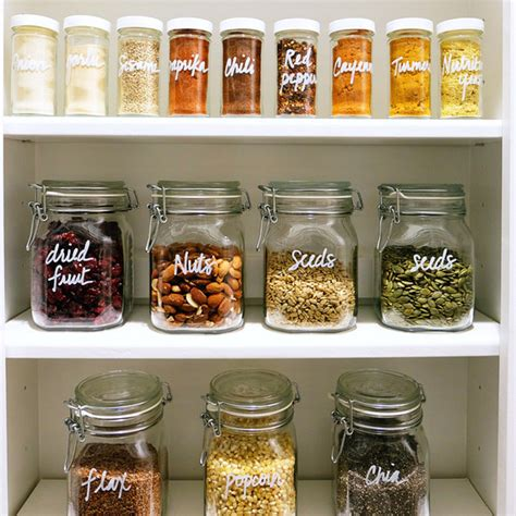 kitchen storage jars 5 easy steps to keep your pantry clean and organized 4586