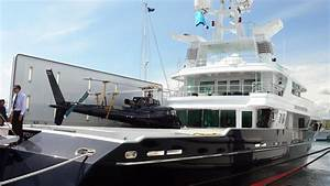 This Yacht Docked In Miami Can Refuel A Helicopter At Sea