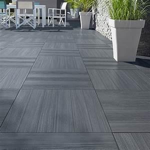carrelage exterieur gris effet bois carrelage idees de With carrelage exterieur effet bois