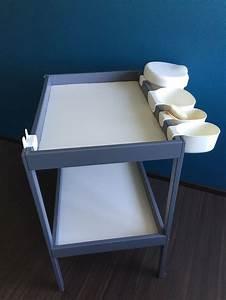 Rangement Table à Langer : table langer ikea relook e baby pinterest tables et ikea ~ Teatrodelosmanantiales.com Idées de Décoration
