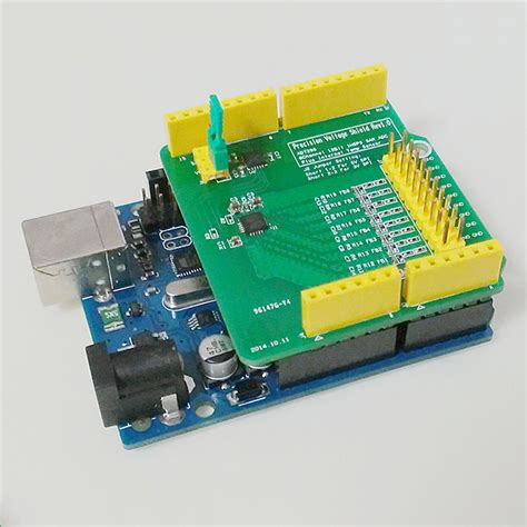 Arduino Precision Voltage Shield(PVS) AD7298 12-bit 8 ...