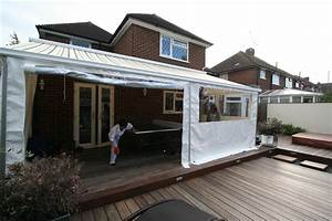 Patio Awning Side Panels Posts
