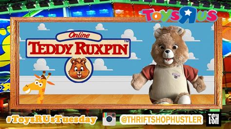 Worlds Of Wonder Teddy Ruxpin Hasbro