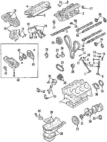 2003 kia sorento engine diagram automotive parts diagram