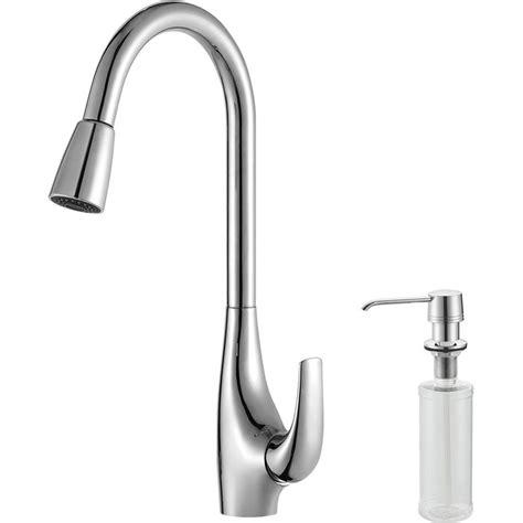 kitchen sink combo kraus khf203 33 kpf1621 ksd30ch kitchen sink and faucet combo