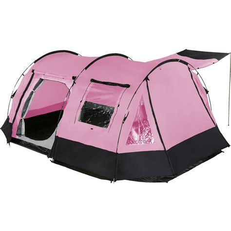 skandika kambo  person man tunnel camping tent  entrances canopy pink  ebay
