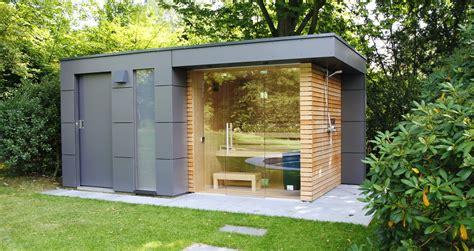design gartenhaus moderne gartenhaeuser schicke gartensauna