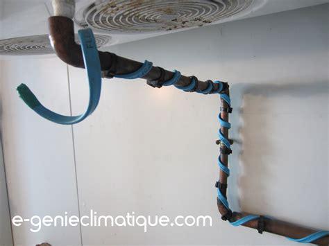 la chambre froide chambre froide négative les cordons chauffants avec