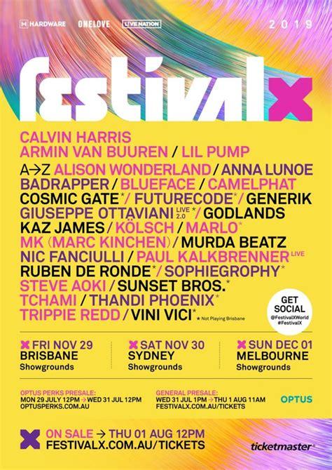 Melbourne Line Up by Calvin Harris Armin Buuren Steve Aoki To Headline