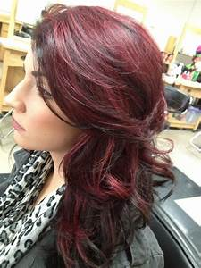 My new hair...dark brown with red-violet! | Hair, Makeup ...