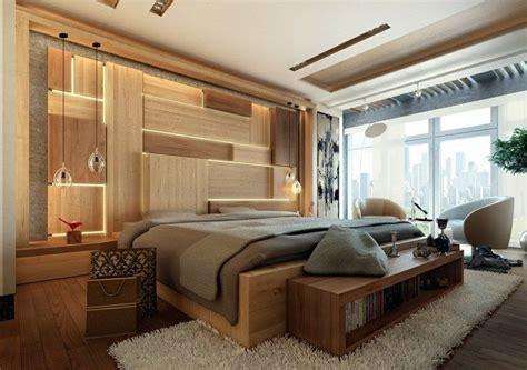 Licht Im Schlafzimmer by Im Schlafzimmer Akzente Mit Licht Und Holz Gestalten