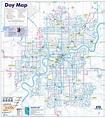 WEST OF EDMONTON MAP - TravelsFinders.Com