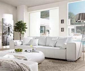 Sofa Xxl Mit Schlaffunktion : couch marbeya weiss 290x110 cm big sofa xxl mit real ~ Indierocktalk.com Haus und Dekorationen