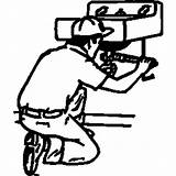 Plumber Clipart Plumbing Commercial Clip Cliparts 20clipart Library Clipground sketch template