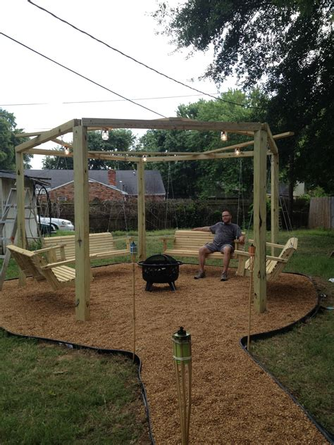 Swing For Backyard Adults by My Swing Set With Pit 5 Acre Paradise
