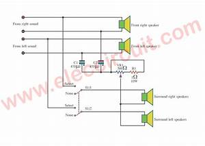 Cheap Surround Sound System Circuit Diagram