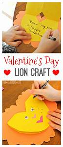 Valentine's Day Lion Craft and The Lion Guard - The Rise ...