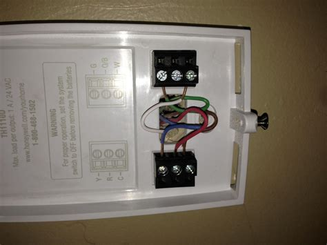 non programable honeywell thermostat wiring diagrams air