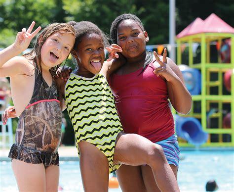 swimming girls  camp ladore