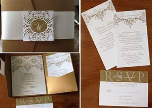 diy wedding invitation kits pocket folds invitation librarry With diy wedding invitations with pockets