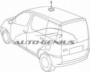 Toyota Echo Verso  1999 - 2005  - Fuse Box Diagram