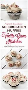 Nuss Milch Mehl Schokoladen Muffins mit Vanille Creme