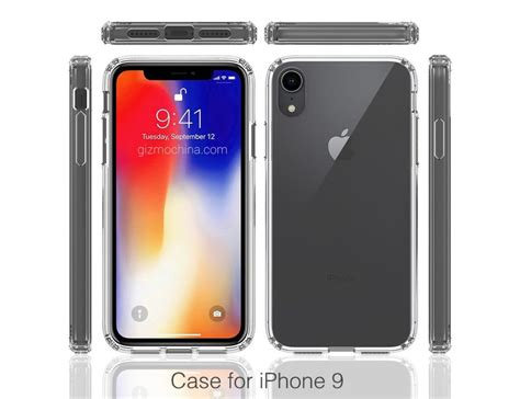 Apple Iphone 9 Case Renders Reveal Notched Display Design And Single Rear Camera App Store No Iphone X T Mobile Jump Deductible 6 Plus Case Liberacion 7 6s A1688 Down Payment Apple Accessories 2 Year Contract