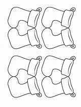 Socks Coloring Printable Mycoloring sketch template