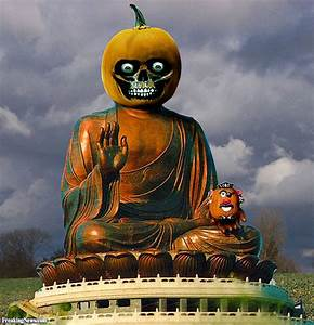 Mr Potato Head Visits The Pumpkin Budda Pictures