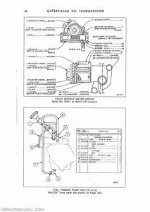 Caterpillar 941 Trax Parts Manual