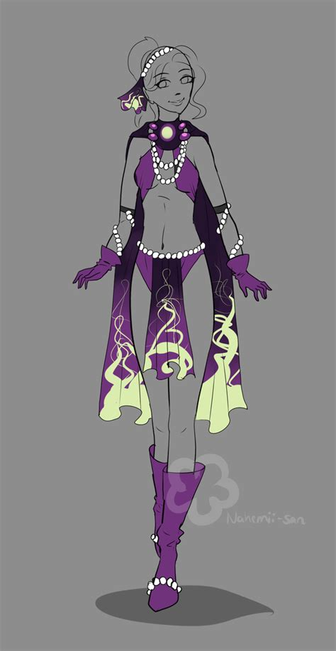 Fantasy Design Adopt #3 - sold by Nahemii-san on DeviantArt