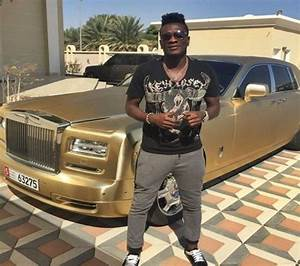 Checkout Asamoah Gyan's Luxurious Roll's Royce Car ...