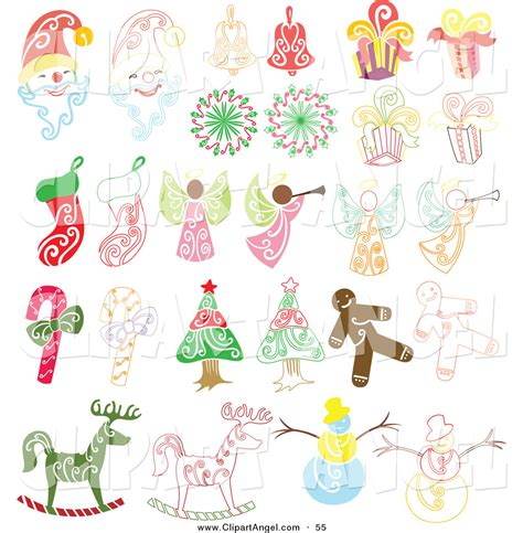Bell Clipart Christmas Angel