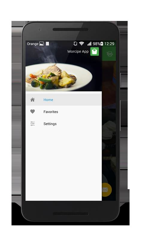 application android cuisine worcipe android recipe app source code food app
