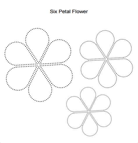 free paper flower petal templates 10 beautiful sle flower petal templates sle templates