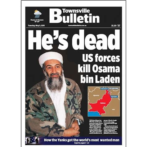 Osama bin Laden killed: front pages from around the world