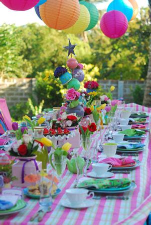 fairy tale theme table settings pictures